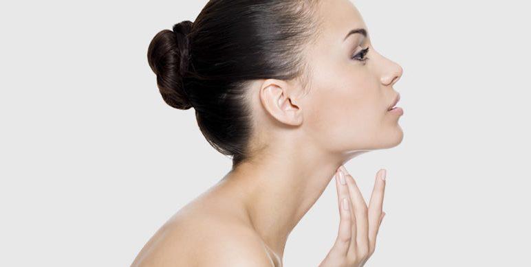 Envelhecimento do pescoço